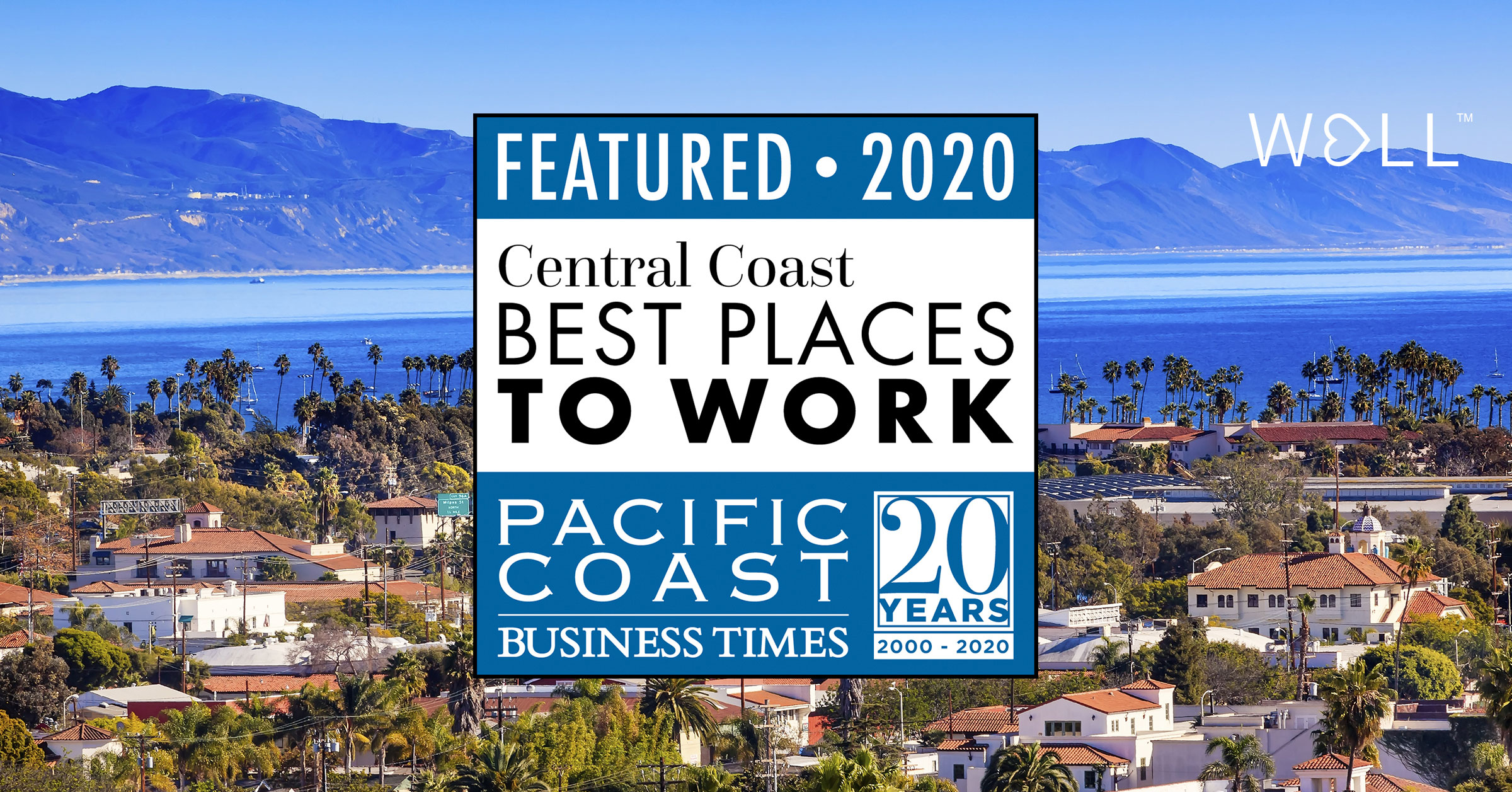 WELL named to 2020 Central Coast Best Places to Work List