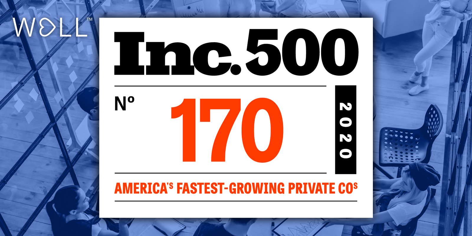 WELL Health makes Inc. 500 list of fastest growing private companies
