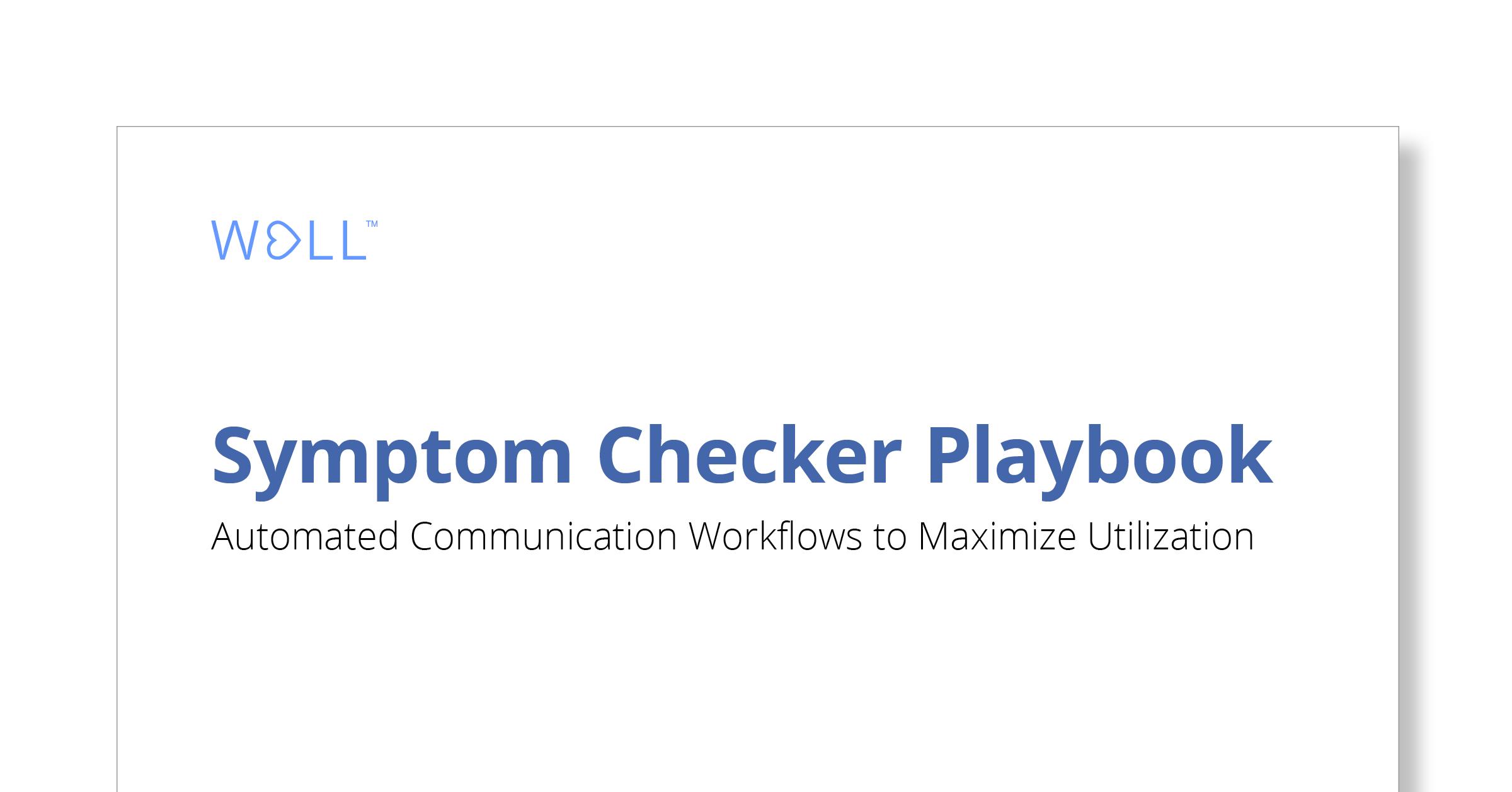 COVID-19 Symptom Checker Playbook