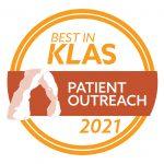 2021-best-in-klas patient outreach badge