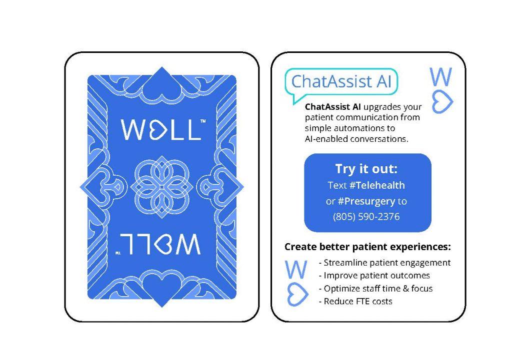 Chatassist AI demo card